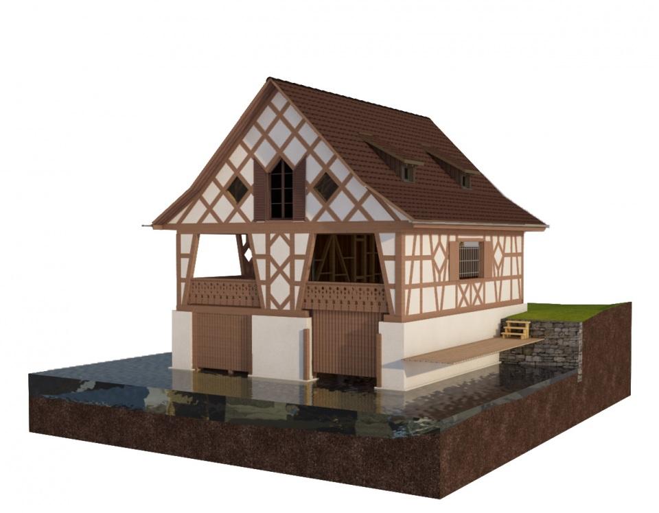 Bootshaus, Kilchberg |